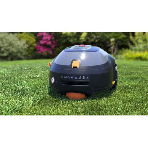BCRMW123-QW - Robot Cortacésped con Limpiador integrado y casa protectora