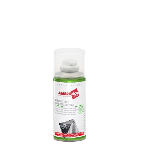 Desinfectante Ambiente Espacios Cerrados Spray One Shot