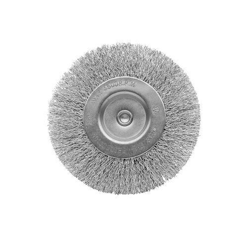 Cepillo circular con alambre de acero inoxidable ondulado diámetro 75 mm / 5080775I
