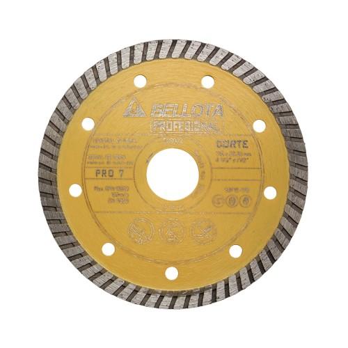 Disco diamante turbo general de obra pro7 corte seco / 50712
