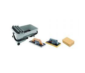 Kit cubo profesional de limpieza para trabajos de alicatado / 58003KIT