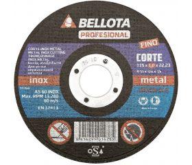 Disco abrasivo profesional fino para corte inox-metal, 1-1,9 mm / 50300