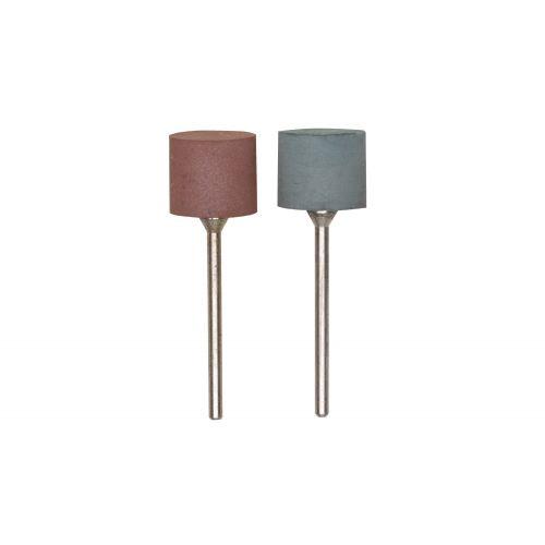 Set de 2 pulidores elásticos cilíndricos 14 mm