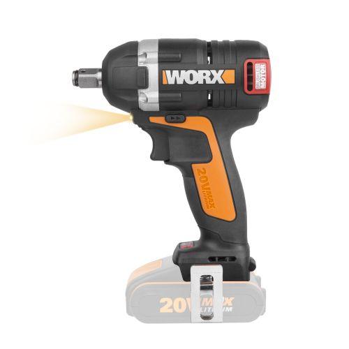 Worx WX279.9 - Llave Impacto Brushless 20V (S/bat)