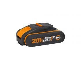 Worx WA3551.1 - Batería 20V 2Ah POWERSHARE
