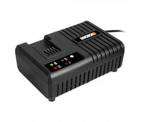 Worx WA3867 - Cargador rápido+ 16V/20V Compatible POWERSHARE