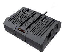 Worx WA3883 - Cargador doble rápido 20V